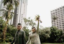 Farrah & Ega Wedding at Sultan Hotel Jakarta (Kudus Hall) by AKSA Creative