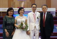 Mikaela's Holly Matrimony (Church Wedding) by Lili Makeup Specialist