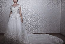 Enchanted Long Train Gown By Korean Designer by Victoria Wedding Collection