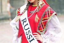 Ms.Global International 2016 National Costume by D' Makeup Artist