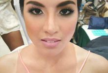 Ms.Global Philippines 2015 Ms. Cj Hirro by D' Makeup Artist