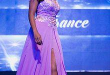 Ms.Global International 2016 Evening Gown by D' Makeup Artist