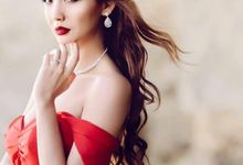 Red And White by Regine Dulay Atelier
