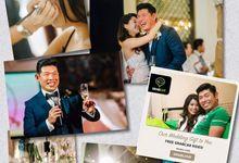 Singapore Tatler Wedding by ek makeup studio