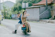 Overseas Pre-wedding Shoot by ek makeup studio