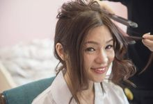 Happiness Actual Day by Angel Chua Lay Keng Makeup and Hair
