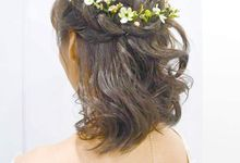 Bridal Garden Wedding by Angel Chua Lay Keng Makeup and Hair