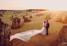 Perth Destination Pre-wedding Photoshoot by Angel Chua Lay Keng Makeup and Hair