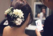 Wedding Bride Elegant by Angel Chua Lay Keng Makeup and Hair