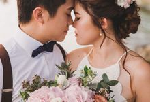 YiZhong & Precillia Solemnization by WillieHaz Hair & Beauty