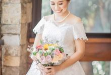 Bride Analiza by Anna Limson Makeup Artistry