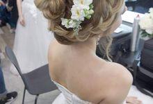 Eurasian Bridal Look by Angel Chua Lay Keng Makeup and Hair