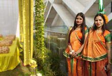 Sagar & Smriti by B3weddingZ