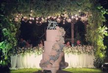 The Wedding Cake Of Yogi & Linda by Moia Cake