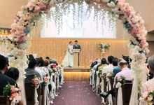 Wedding Of Anton & Vanessa by Dorcas Floral