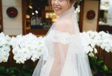 Beautiful Wedding Bride by Angel Chua Lay Keng Makeup and Hair