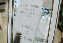 The Wedding Cake Of Dinal & Shanil by Moia Cake