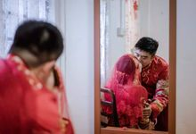 Red KUA Bride by Angel Chua Makeup and Hair