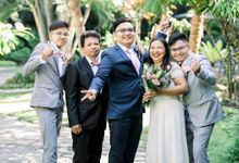 Karen & Alvin Davao Wedding by Lucky Moments