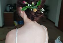 Bride Big Wedding Day by Angel Chua Makeup and Hair