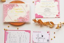 Chandra & Sisca Wedding by Gifu Invitation & Souvenir