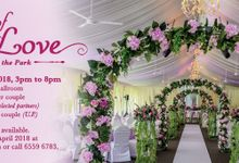 Garden of Love - Weddings in the Park by Hotel Fort Canning