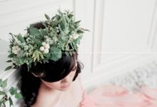 Customize Flower Crown by BLUBELLS Flower