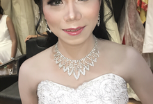 Mrs.Maria wedding by Fchristinamakeup