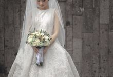 Bride flowers by Rhea flowers shop