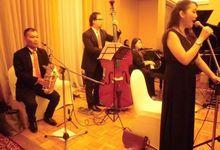 Ritz Carlton- Chandra & Sherly Wedding Reception by Jova Musique