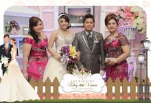 The Wedding of Febry & Vannie by After 5 Photobooth