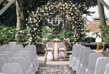 The Wedding of Ferdy & Febe by Elior Design