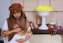 7 Month Pregnant Azella Dara by FRAME PHOTOWORK