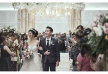 The Wedding of Clara & Winata by Skenoo Hall Emporium Pluit by IKK Wedding