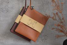 Zipper B-size Premium J-series for Markus & Elizabeth by Gemilang Craft