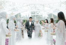 Felda & Haidar Wedding by De Manten Wedding Organizer