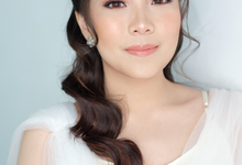 prewed look for photoshoot by felicia orlana makeup artist