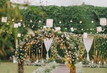 The Wedding Of Felicia & Deny by Elior Design