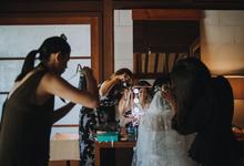 Intimate wedding in Paradise by Felita Wirawan Studio