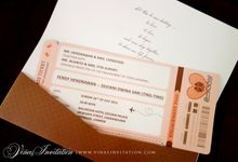 Fendy & Ting-Ting by Vinas Invitation