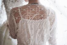Anita's Robe - Premium Custom Bridal Robe by Fenny Wong Indonesia