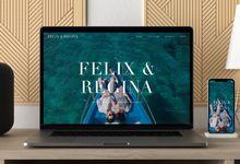 Wedding Website - Felix & Regina by Our Days & Co - Wedding Website Design