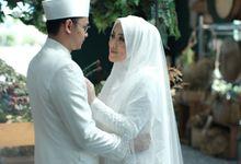 Akad Hijrah Ferensa & Faris by LAKSMI - Kebaya Muslimah & Islamic Bride