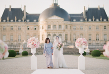 Château Wedding in France by Fete in France