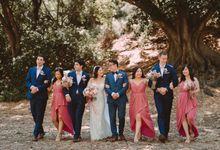 Shir Leen and Jonos Wedding by Hadarah Hair and Makeup