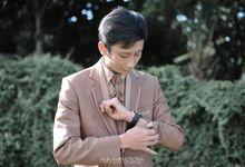 Intimate Wedding Ami & Baim by Nukami Photona