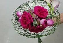 Amaryllis floral art wedding flowers in jakarta bridestory pink art collection bridal bouquet by amaryllis floral art junglespirit Gallery