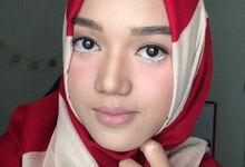 Makeup No Makeup by Abidahemasmakeup