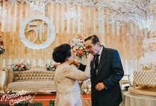 Rustic Golden Anniversary by Sentra Bunga Decor