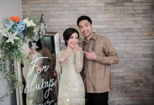 The Engagement of Keynakameron & Arga Syahrun by Amorphoto